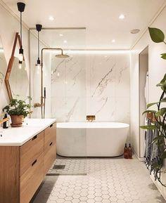 Ideas Master Bathroom Remodel Shower Walk In Layout Tubs For 2019 Modern Master Bathroom, Modern Bathroom Design, Bathroom Interior Design, Small Bathroom, Bathroom Ideas, Bath Design, Budget Bathroom, Bathroom Designs, Master Tub