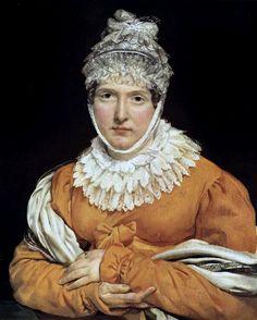 "Antoine-Jean Gros: ""Portrait of Madame Récamier"", Date unknown,  oil on canvas, Location:Unknown."