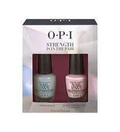OPI Strength Is In The Pair Original Nail Envy  Nail Envy Color in Bubble Bath 5oz each >>> Click image to review more details.