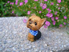 PolymerClay My Dog York Lu-mi by CiCi Fimo, via Flickr