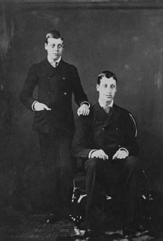 Prince George of Wales and Prince Albert Victor of Wales, 1881 | Royal Collection Trust