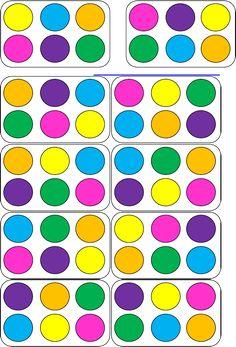Rapid Automatic Naming Trial and Tracking Sheets Preschool Kindergarten, Preschool Learning, Preschool Activities, Montessori Practical Life, Montessori Math, Folder Games, File Folder, Kids Cards, Kids Education