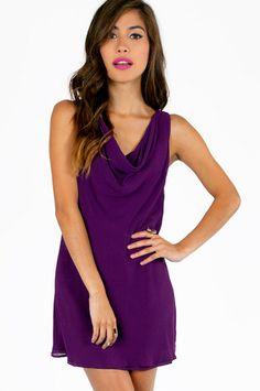Don't Have A Cowl Dress $52 at www.tobi.com
