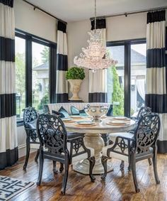 Corner breakfast nook.  Joy Tribout Interior Design