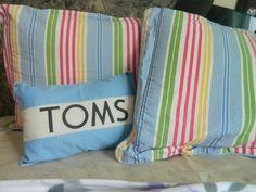 DIY : Toms Pillow!