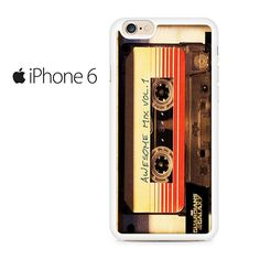 Guardians Of The Galaxy Awesome Mix Vol 1 Tape Iphone 6 Iphone 6S Case