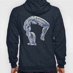 Bend Over Backwards Hoody Bend Over, Hoody, Activewear, Sweaters, Fashion, Moda, Fashion Styles, Sweater, Fashion Illustrations