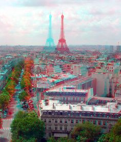 #EiffelTower viewed from the Arc de Triomphe. #Paris