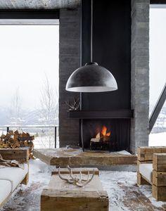 Photo: Trevor Tondro #fireplace
