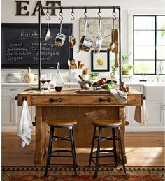 Chianti Kitchen Island Pottery Barn Love This