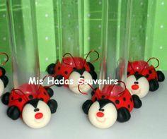 Souvenirs Tubos Minnie Mickey Kitty - $ 11,99 en MercadoLibre