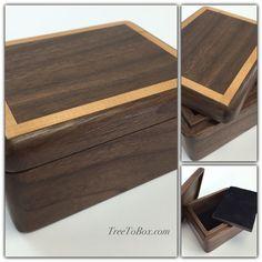 Box with false bottom
