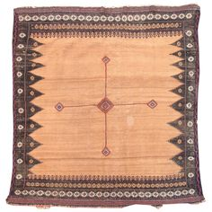 Baluch Soffreh | From a unique collection of antique and modern persian rugs at http://www.1stdibs.com/furniture/rugs-carpets/persian-rugs/