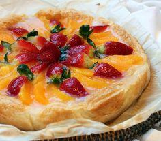 Tarta de hojaldre y frutas 1