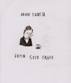 Dick Vincent David Lynch Illustration #twinpeaks #coffee #illustration #design
