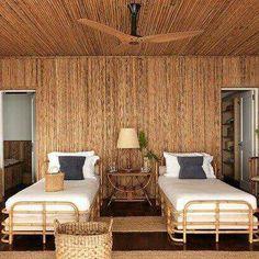 Si es verdad que es hermoso utilizar el bambú tampoco debemos abusar.