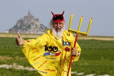 The Devil approves of the Tour de France time trial to Mont-Saint-Michel