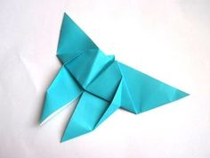 Origami Butterfly. I think I will use this as an extension to the butterfly exhibit we saw at Franklin Park Conservatory