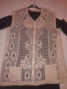 Tığ işi yelek Crochet Cactus, Crochet Top, Women, Baby, Fashion, Vest Coat, Crochet Batwing Tops, Tejidos, Outfits