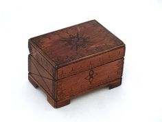 Vintage wooden jewelry box Vintage  Treasury box by ArtmaVintage