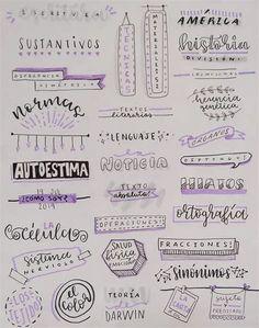 Bullet Journal Titles, Bullet Journal Lettering Ideas, Bullet Journal Banner, Journal Fonts, Bullet Journal Notebook, Bullet Journal Aesthetic, Bullet Journal School, Bullet Journal Inspiration, Lettering Brush