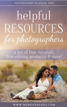 Photographers: Find free tutorials, products, and services for your photography business all in one place with this list of helpful resources for photographers!