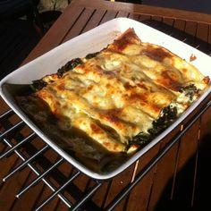 Vegetarisk lasagne med svartkål