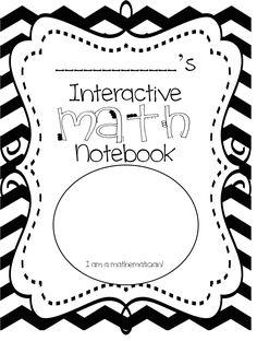 First Grade Wow: Interactive Math Notebook