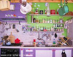 まねしたいお部屋:人気のあるキッチンです。