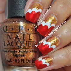 San Francisco 49ers #nail #nails #nailart