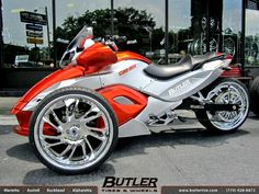 Custom Can Am Spyder http://www.route3amotorsports.com/index.htm https://www.facebook.com/pages/ROUTE-3A-MOTORS-INC/290210343793?ref=hl OPEN 7 DAYS A WEEK 978-251-4440