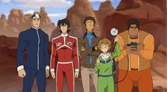 """ashterism: """"What If """" even in the original Lance had the best outfit."""
