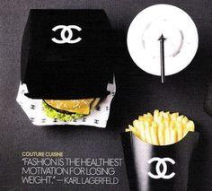 Karl Lagerfeld always right