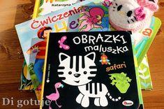 Di gotuje: Książeczki dla dzieci mniejszych i tych trochę sta...