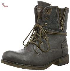 Mustang 1139-628, Bottes Classiques Femme, Gris (20 Dunkelgrau), 44 EU - Chaussures mustang (*Partner-Link)