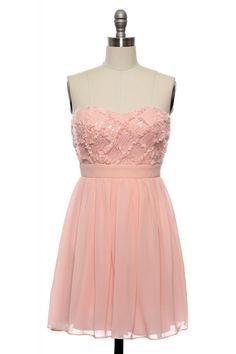 Pink Diamonds Dress http://www.laceaffair.com/pink-diamonds-dress/
