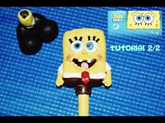 Tutorial 2/2  Bob Esponja Bolígrafo Decorado