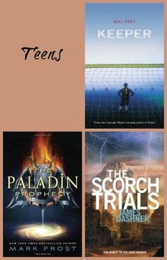 August 2013 Book Selections for Teens