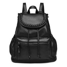 SHARE & Get it FREE | Leisure Women's Satchel With String and Black Colour…