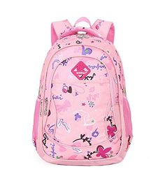ESHOPS CUTE COLORFUL BACKPACKS FOR GIRLS SCHOOL BAGS BOOKBAG BACK PACK PINK   - Click image twice for more info - See a larger selection of pink backpacks at http://kidsbackpackstore.com/product-category/pink-backpacks/ -  kids, juniors, back to school, kids fashion ideas, teens fashion ideas,  school supplies, backpack, bag , teenagers girls , gift ideas, pink.