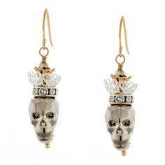 Skull Queen Earrings | Fusion Beads Inspiration Gallery