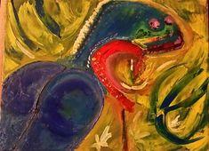Check out Filomena cameleoneta by Jovan Cavor | Original Art | https://www.vangoart.co/jovan-cavor/filomena-cameleoneta @VangoArt
