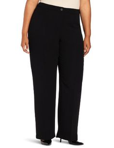 a712924a064 Jones New York Women s Plus-Size Button Front Pant