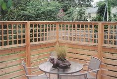 Home Improvement Contractors building decks, patios, porches outdoor enclosures, arbors, trellises and any structure that you can design. Horizontal Deck Railing, Deck Railings, Railing Ideas, Fence Ideas, Backyard Ideas, Patio Wall, Wood Patio, Pavers Patio, Pergola Patio