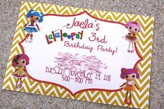 Even more Lalaloopsy Party Ideas