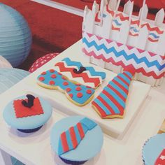 Little Man Themed Dessert Table Event: Judah's 1st Birthday Venue: Lfisher Chalet Bacolod City Dessert Table set-up|Cupcake|Cookies: Sweet PEA by Genesis Sison-Basiao Cakepops: Praisel Tabefranca-Arangcon