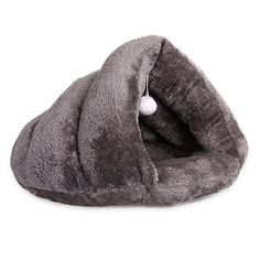 Hollypet inch Self-warming Comfortable Triangle Cat Bed Cave House ** Be sure to check out this awesome product. (This is an affiliate link) Online Pet Supplies, Dog Supplies, Cat Tent, Bed Furniture, Cave, Your Dog, Triangle, Pets, Link