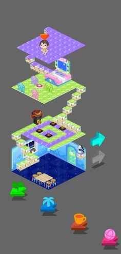 My Ameba Pigg's room