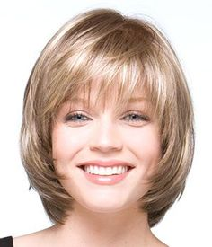Front of bob with bangs