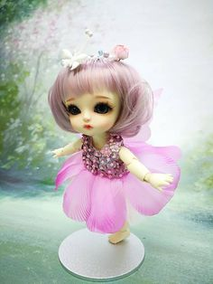 Pink fairy dress for Lati yellow Puki Fee and similar size Cute Little Baby Girl, Cute Baby Dolls, Little Babies, Cute Babies, Anime Dolls, Bjd Dolls, Fairy Dress, Kawaii Anime Girl, Cool Cartoons